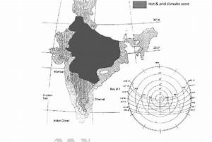 Various Climatic Zones Of India And Solar Path Diagram For