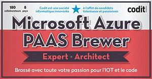Microsoft Azure Paas Brewer Expert  Architect
