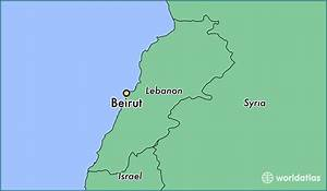 Where Is Beirut Lebanon Beirut Beyrouth Map