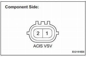 Engine Noise Diagnosis Chart Toyota Service Manual Acis Control Circuit