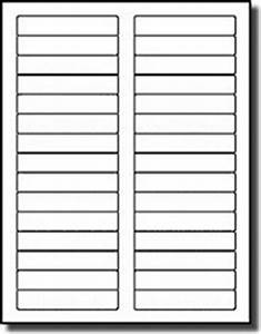 Avery 8366 Template 3 000 White File Folder Labels 3 7 16 X 2 3 Compulabel