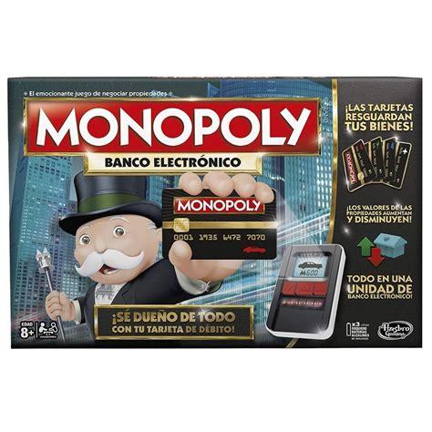 ¡juega online a monopoly junior, monopoly 3d y a muchos otros juegos de monopoly! MUNDO MANIAS | Monopoly Banco Electronico Juego De Mesa Hasbro Mundo Manias - $ 3.799,00