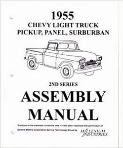 Assembly Manual W   Factory Instruction Guide  1955 Chevy