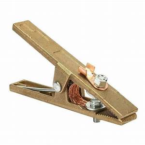 Copper Earth Ground Cable Clip Welding Manual Welder