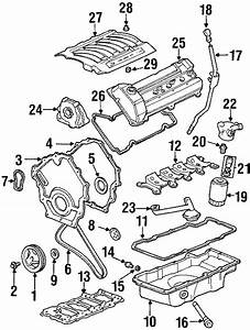 Oldsmobile Aurora Engine Oil Filter Adapter  Package