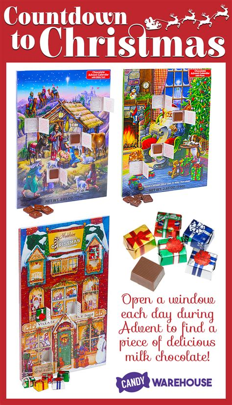 That i may dwell in the house of the lord all the days of my life, to behold the beauty of the lord. Merry Christmas! Make sure you get your advent calendars soon! https://www.candywarehouse.co ...