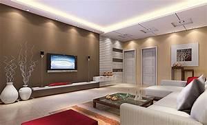 Home living room interior design rendering 3d house for Interior design photos of living room