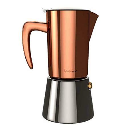 How much does the shipping cost for italian stovetop coffee maker? Original bonVIVO Intenca Stovetop Espresso Maker, Italian ...