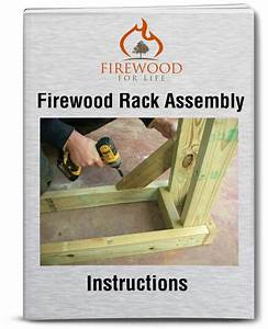 Firewood Rack Assembly Instructions