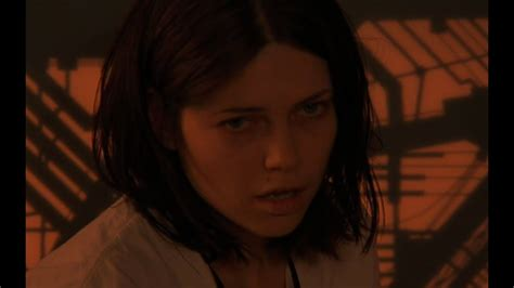 Shot in the stomach by harry hamlin (at her own request). Nicole de Boer Cube une grande passion - YouTube