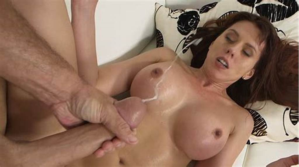 #Porstar #Amber #Chase #Gets #Her #Tits #And #Face #Covered #In #Jizz.