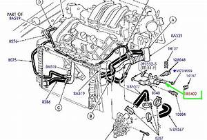 Ford  Dohc  Pipe That Connects To The Part Number  Cooling