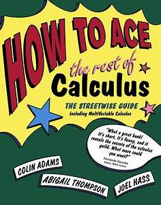 How To Ace The Rest Of Calculus  The Streetwise Guide  Including Multivariable Calculus  How To