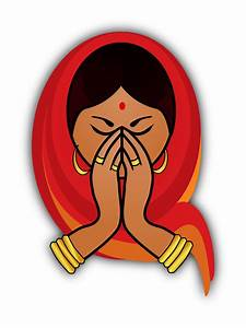 Clipart - Indian Woman