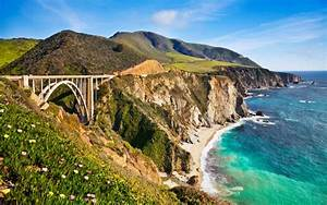 Bixby Bridge In Big Sur California Wallpapers