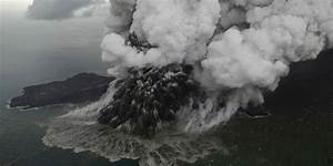 Anak Krakatau Volcano Now A Quarter Of Its Pre