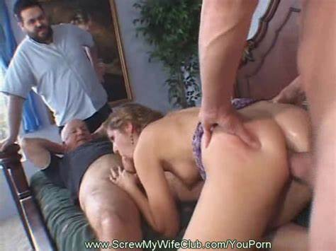 Teenage Pigtails Young Taking Gangbanged In Swingers Couple Clip