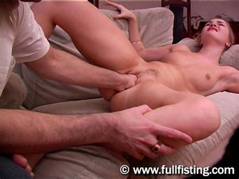 First Painful Anal Fisting