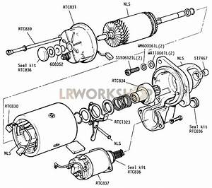 Starter Motor - 109in V8 - Type 3m100  Sealed