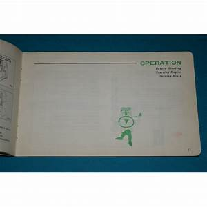Original 1969 Toyota Corona Mark Ii Owners Manual