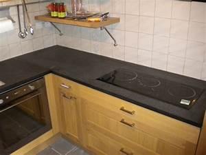 Table De Travail Marbre : granit noir zimbabwe flamm table en granit noir zimbabwe ~ Zukunftsfamilie.com Idées de Décoration
