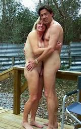 Couple married nudist swinger
