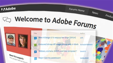 Getting the Most Out of the Adobe User Forums ...