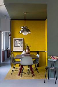 decoration interieure salle a manger dining room mur With salle a manger peinture des murs