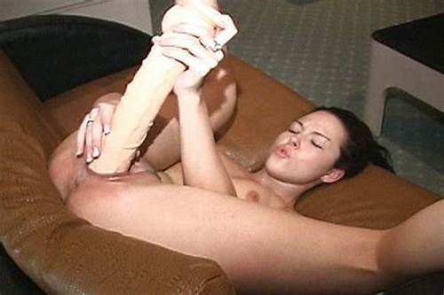Stepson Have A Huge Ejaculation On The Teen Dildo
