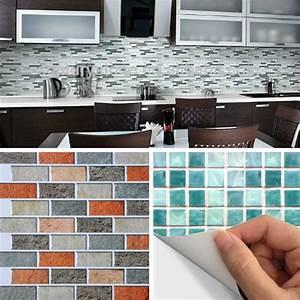 Carrelage Auto Adhésif : awesome carrelage adh sif mural images ~ Premium-room.com Idées de Décoration
