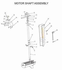 E-drive  Motor Shaft Assembly  Parts