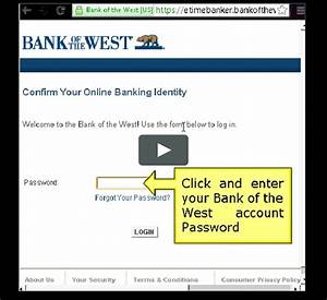 Bank Of The West Online Banking Login Guide On Vimeo