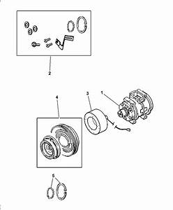 2005 Dodge Magnum Compressor  U0026 Related Parts