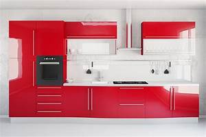 Rote Arbeitsplatte Küche : gro artig rote arbeitsplatte k che fotos die besten ~ Sanjose-hotels-ca.com Haus und Dekorationen