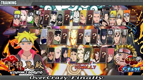 Naruto senki là một game thể loại moba mô phỏng theo phong cách của series truyện tranh naruto thần thánh dành cho dòng máy android. Download Naruto Senki Mod Apk Full Character Terbaru