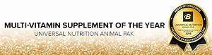 Animal Pak By Universal Nutrition At Bodybuilding Com