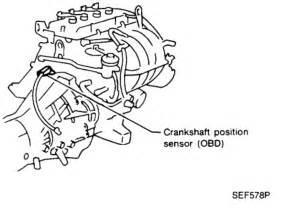 Crankshaft Position Sensor A Circuit  Engine Mechanical