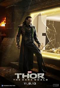 Loki Escapes in New Poster for THOR: THE DARK WORLD ...
