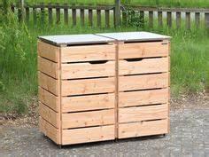 Mülltonnenbox Holz Anthrazit : 2er m lltonnenbox holz anthrazit grau made in germany ~ Whattoseeinmadrid.com Haus und Dekorationen