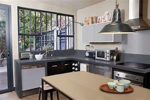cuisine indogate idee peinture chambre zen meuble blanc With cuisine mur rouge meuble blanc