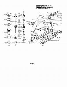 Porter Cable Us585 Power Stapler Parts