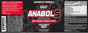 Nutrex Anabol 5 Test Et Avis
