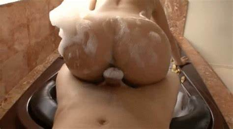 Soapy Narrow Booty Fuck By Her Finger porn gifs with sources