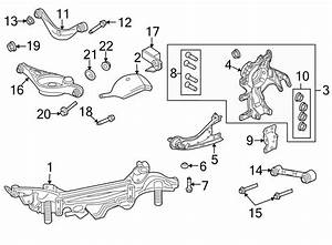 Mercury Milan Suspension Control Arm Bolt  Front  Rear