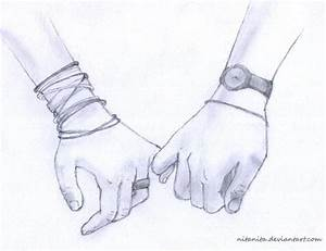 Couple Holding Hands Drawings Tumblr | How to draw hands ...