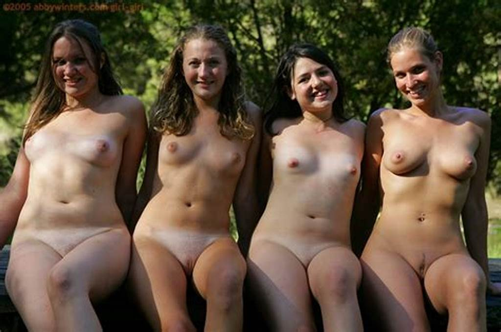 #Four #Australian #Girls #Play #Naked #In #The #Woods