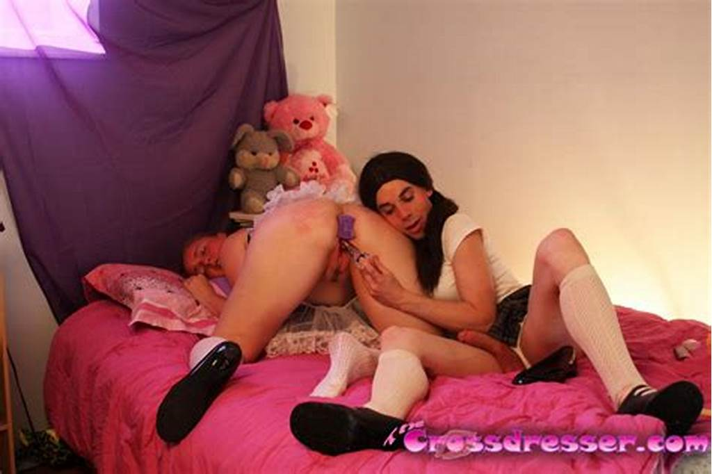#Teenage #Xdresser #Katie #Is #Playing #Schoolgirl #With #Her #New