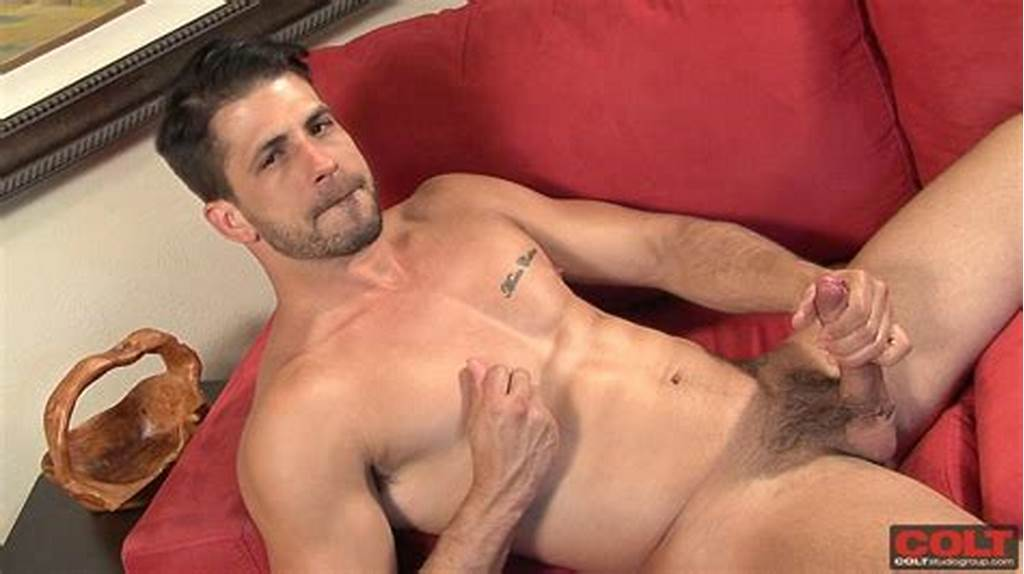 #Athletic #Hunk #Ray #Han #Jerking #Off #His #Big #Uncut #Cock