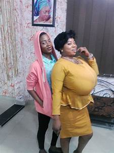 New Photos Of The Lady With Big Bosom Who Nearly Caused