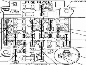 1981 Chevy K10 Fuse Box Diagram
